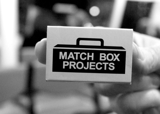 Match Box Projects - artwork in a box